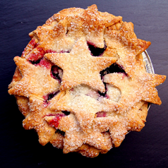 Starry Triple Berry Mini Pies - 2 Pack