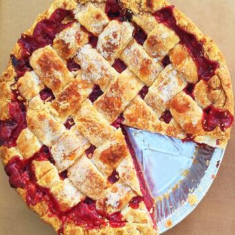 Bubby's Sour Cherry Pie