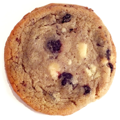 Blueberry And Cream Cookie Tin