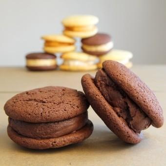Britt's Fav Chocolate on Chocolate Whoopies Dozen