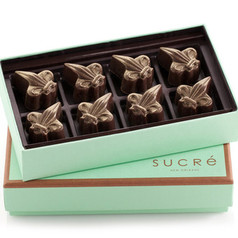 Fleur de Lis Chocolate Collection - 8 pc