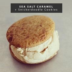 Sea Salt Caramel + Snickerdoodle Cookies Pack