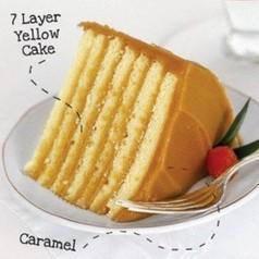 7 Layer Caramel Cake
